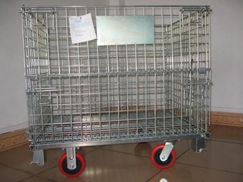 带脚轮仓储笼 (1)