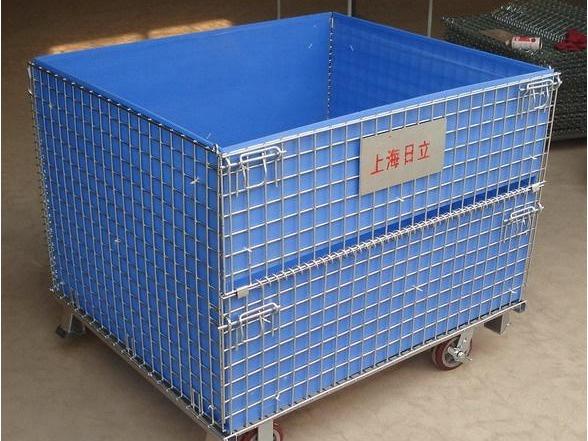 中空板仓储笼 (2)