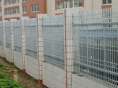 钢格板围栏 (1)